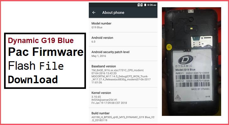 Dynamic G19 Blue Pac Firmware by gsmpagla