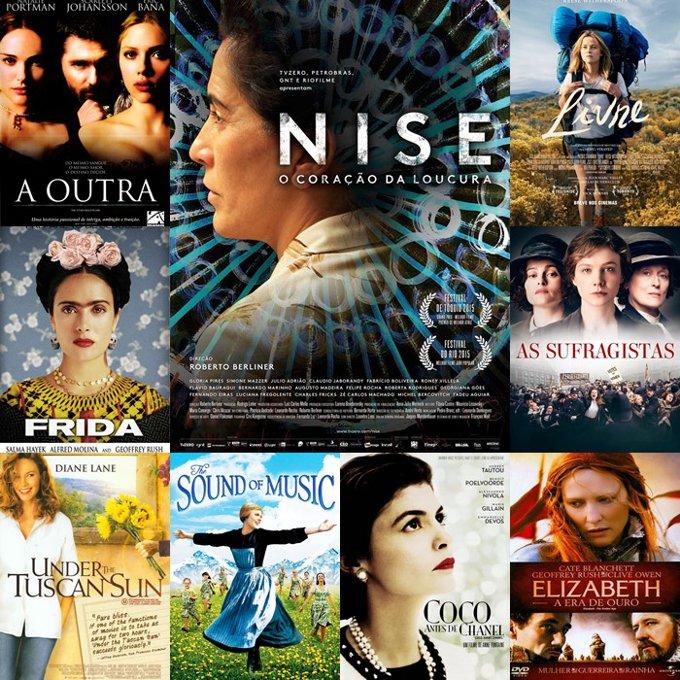 Filmes biográficos sobre mulheres especiais - Dia Internacional da Mulher