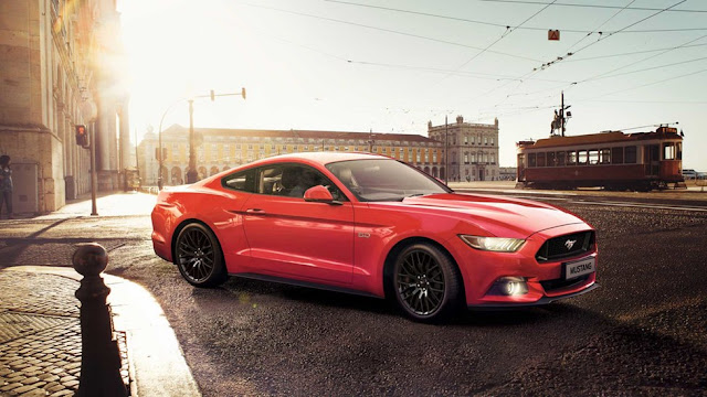 The Ford Mustang Is Here In India At A Price Of Rs.65 Lakh