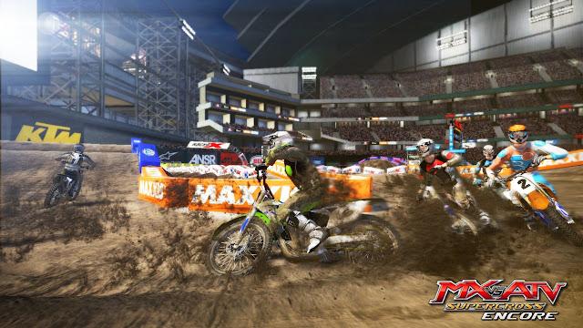 MX vs ATV Supercross Encore PC Full Version Gameplay 1