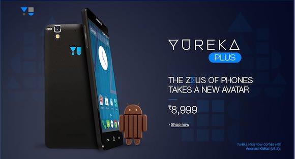 Yu Yureka Plus on Android (YU5510A) Announced