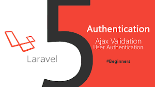 User Authentication with Ajax Validation in laravel 5.3