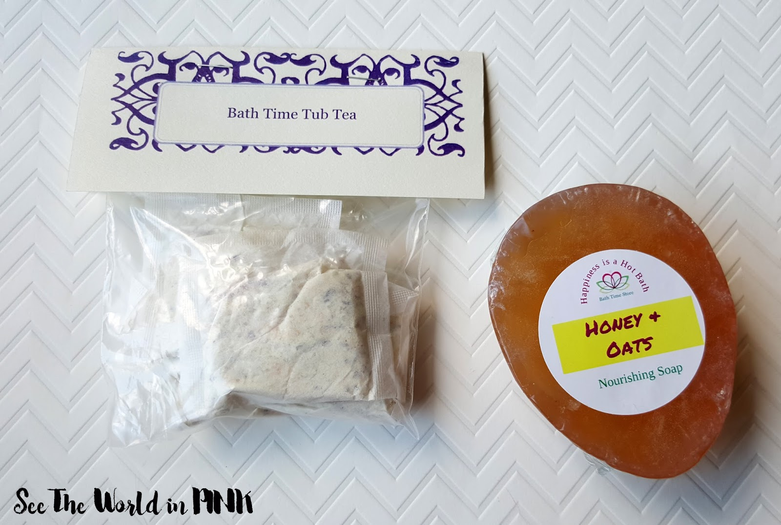 July 2016 Bath Time Box - Unboxing and Review!