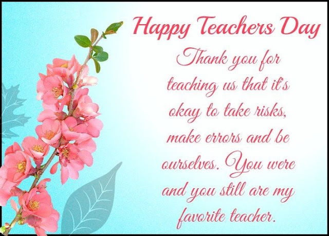 Teachers Day Wordings
