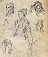 Female RPG Character Portraits
