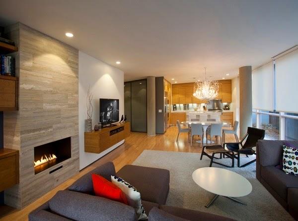 deco chambre interieur d coration salon ouvert sur la cuisine. Black Bedroom Furniture Sets. Home Design Ideas