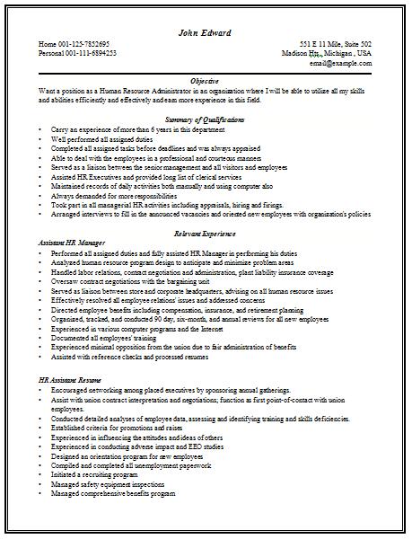 senior manager human resources resume 28 images resume