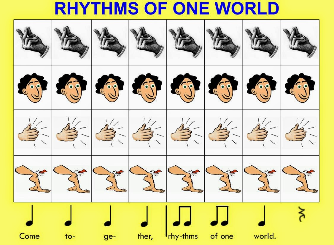 Stay Tuned Grade 1 Body Percussion Compositions