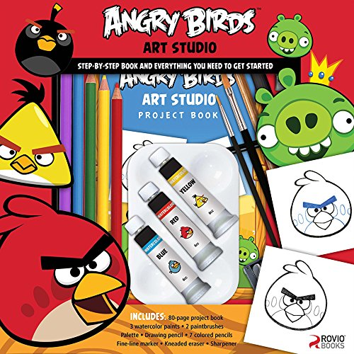 Angry Birds Art Studio by Walter Foster Creative Team
