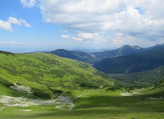 Dolina Chochołowska Wyżnia.