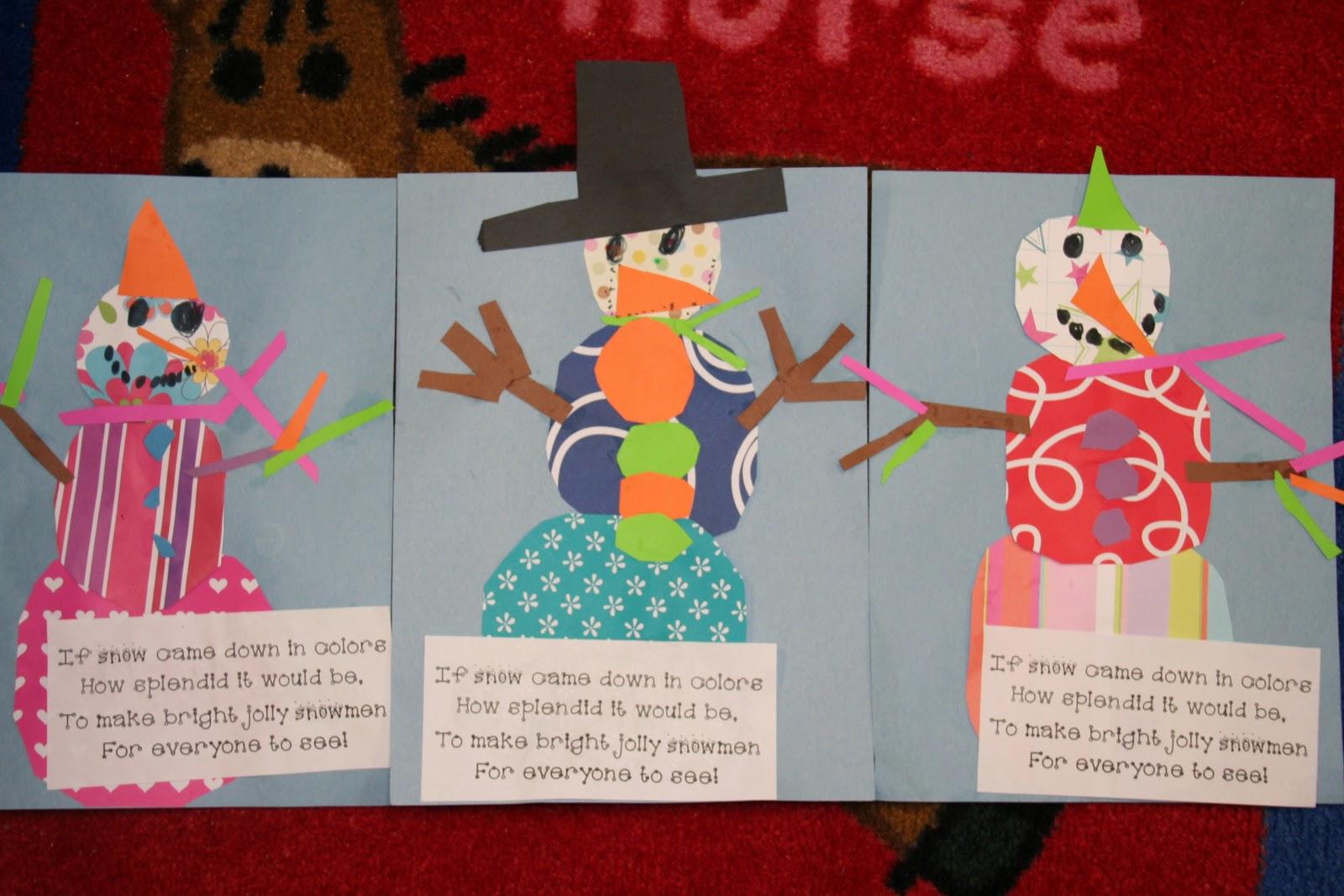 Search Results For Snowman Glyph Kindergarten Calendar
