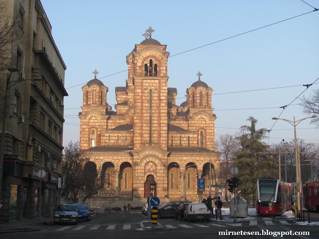 Белград - Церковь Святого Марка