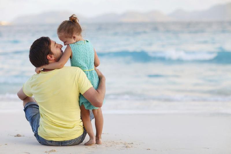 ảnh cha và con gái