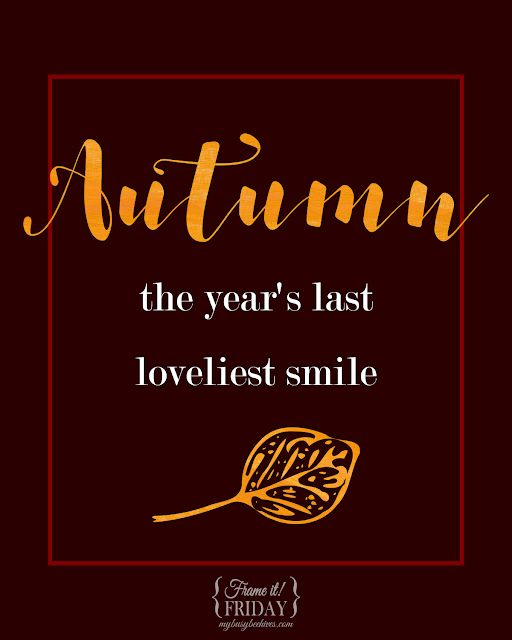Autumn and Fall printables
