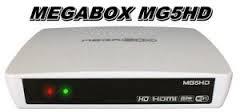 MEGABOX%2BMG5%2BHD - MEGABOX MG5 HD NOVA ATUALIZAÇÃO V 7.50 - 05/09/2017