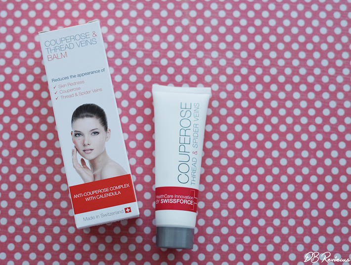 Swissforce Pharma AG Couperose Thread and Spider Veins Balm