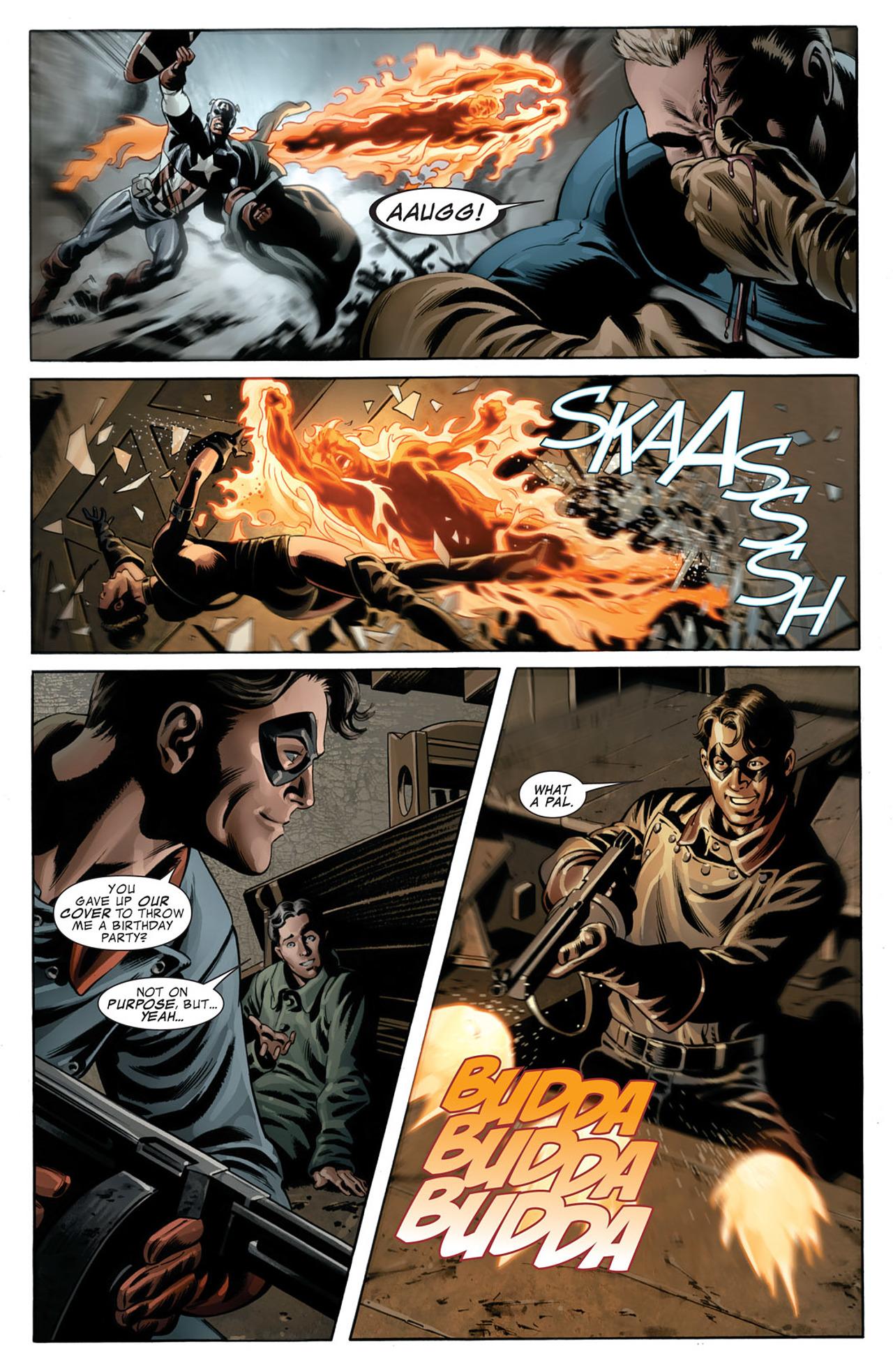 Read online Captain America (2005) comic -  Issue #50 - 13