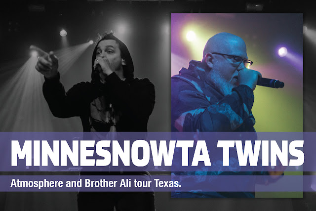 Slug (Atmosphere) & Brother Ali. Austin, TX.