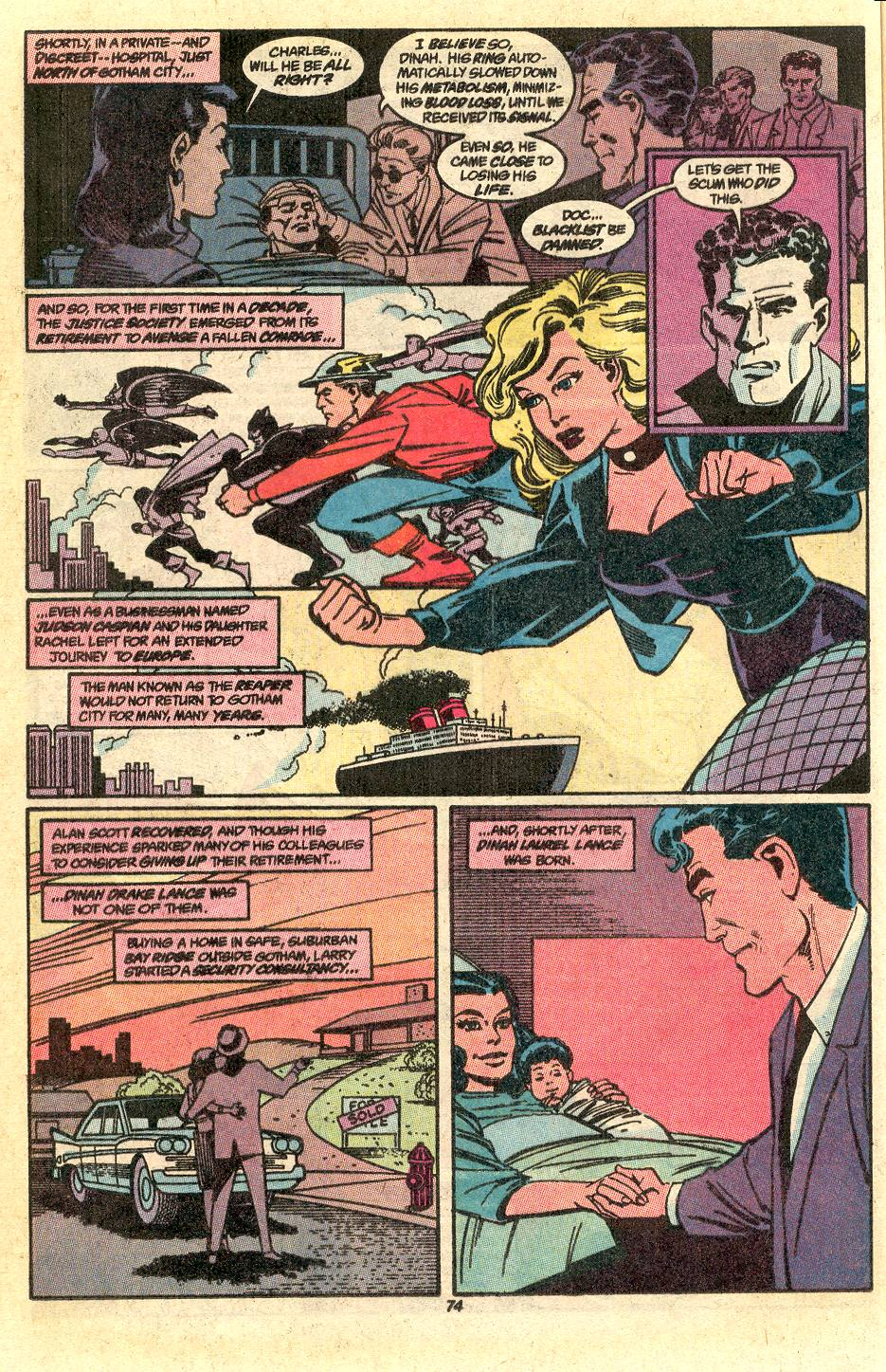 Read online Secret Origins (1986) comic -  Issue #50 - 77
