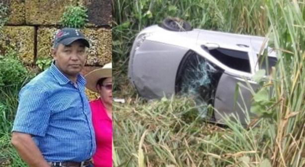 Funcionário público morre em grave acidente na BR 364