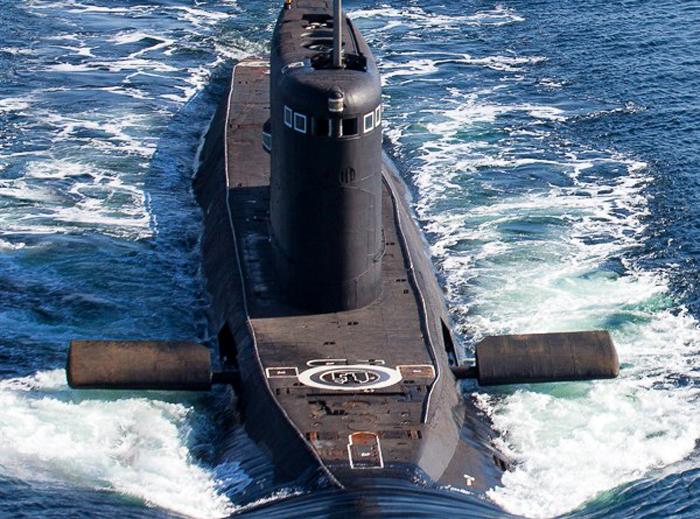 Submarine rusia