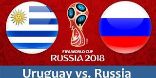 نتيجه مباراه روسيا و اوروجواي اليوم 25-6-2018 التي انتهت بنتيجه 3 - 0 لصالح اوروجواي
