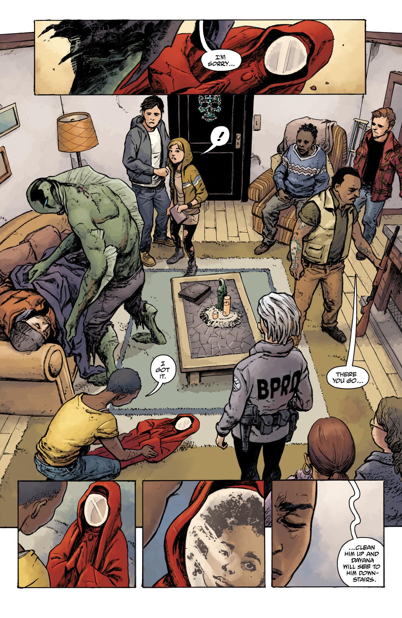 Read online Abe Sapien comic -  Issue #16 - 18