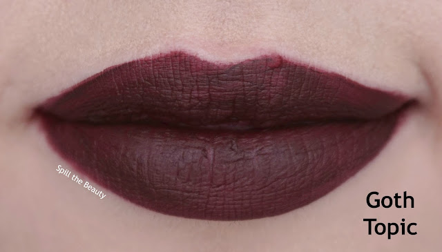 wet n wild liquid catsuit matte lipstick review swatches look video vixen 931b lips