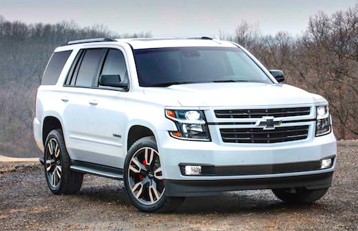 2018 Chevrolet Tahoe Fuel Economy