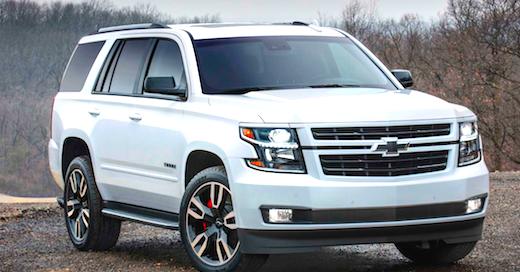 2018 Chevrolet Tahoe Fuel Economy - Cars Authority