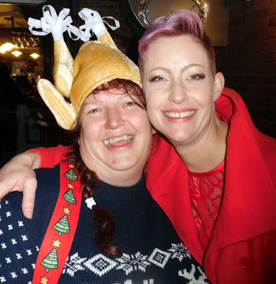 Picture one: Christmas music night and party at the Britannia Inn, Brigg - December 22, 2018 - see Nigel Fisher's Brigg Blog
