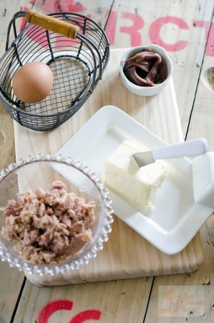 ingredientes para el pate de atun4