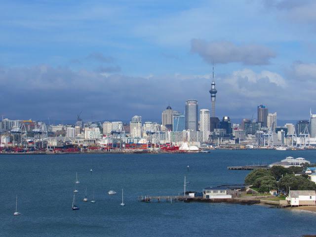 Auckland vista desde Devonport