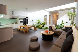 sala y cocina integrada