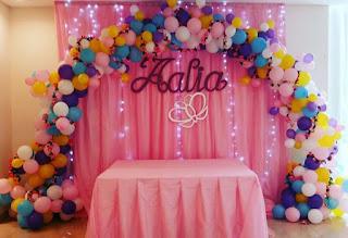 aneka balon dekorasi ulang tahun