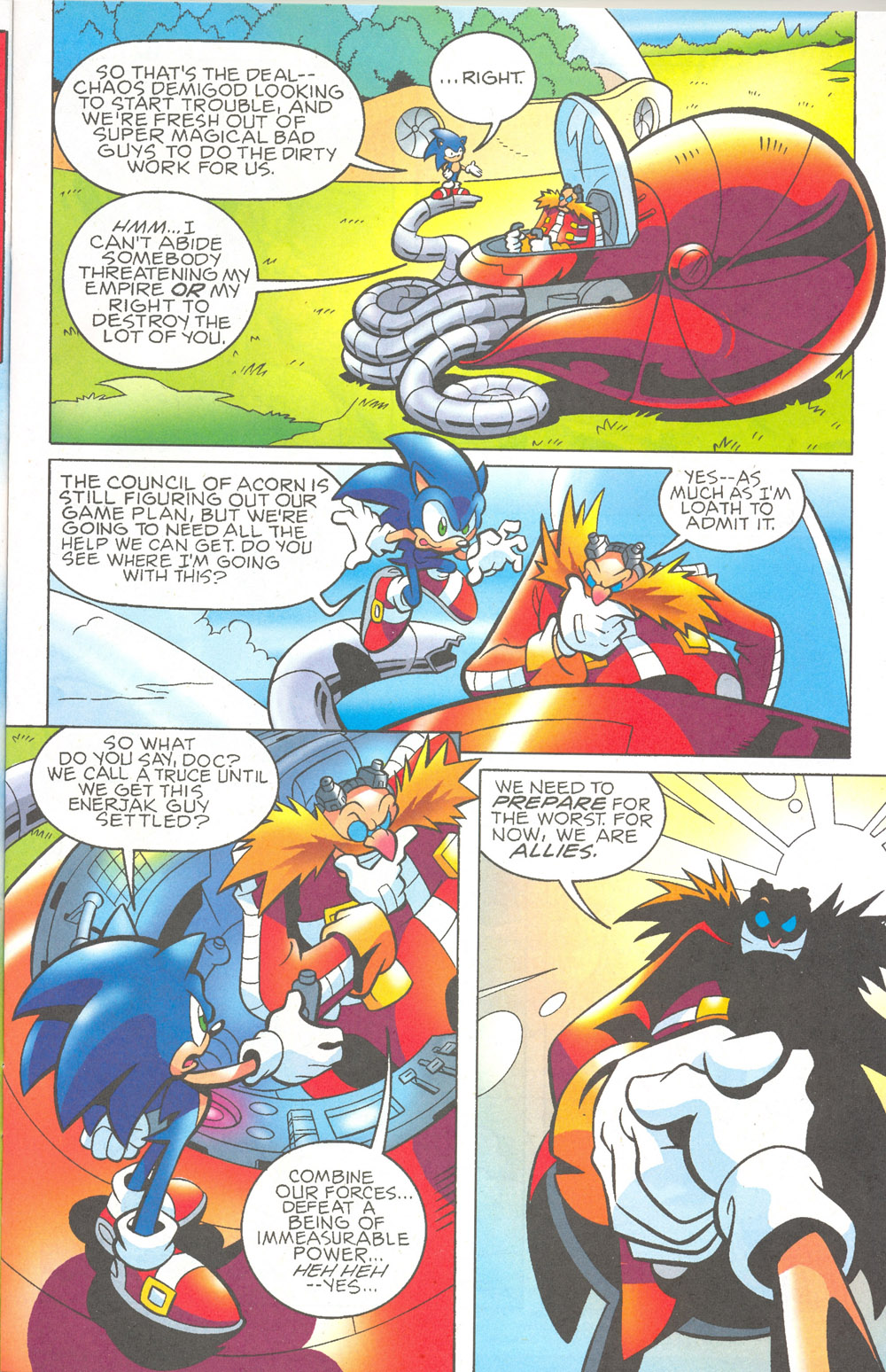 Read online Sonic The Hedgehog comic -  Issue #180 - 8
