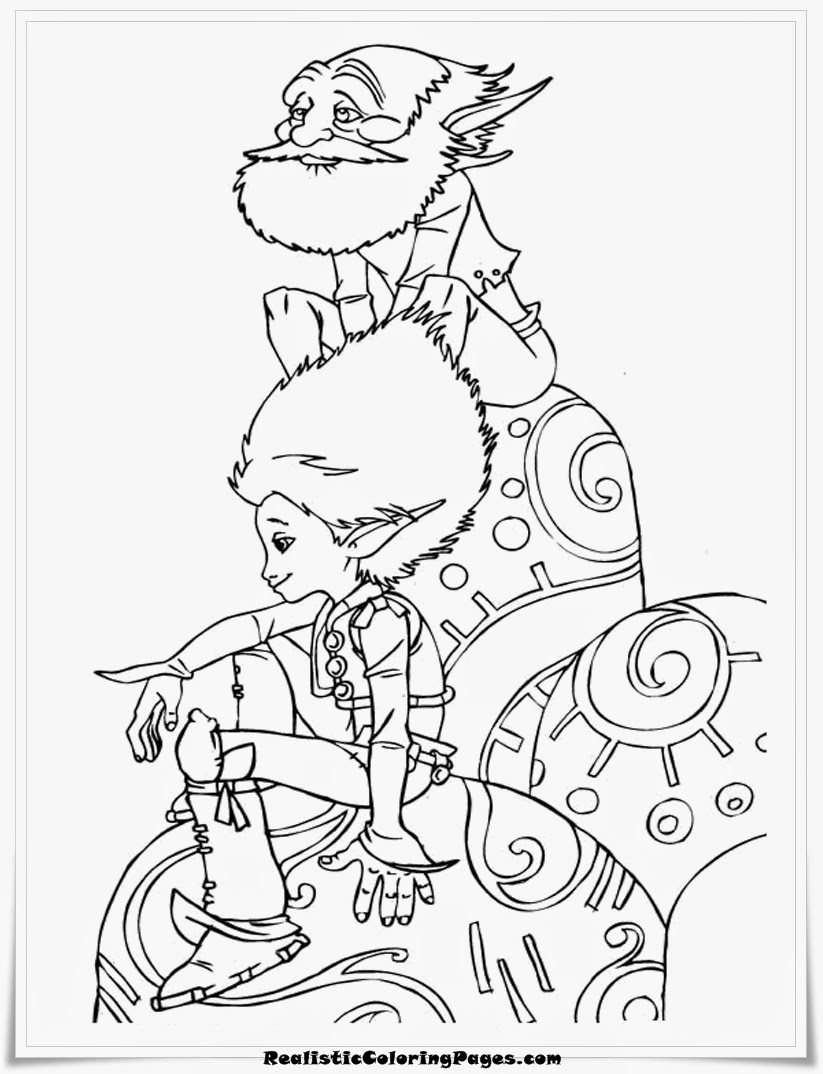 arthur and the minimoys free printable coloring sheet