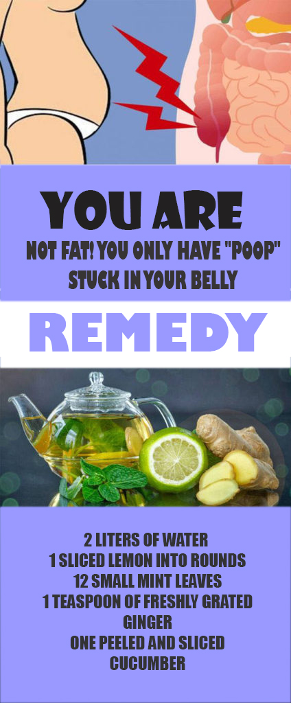 home remedy for remove stuck poop in belly
