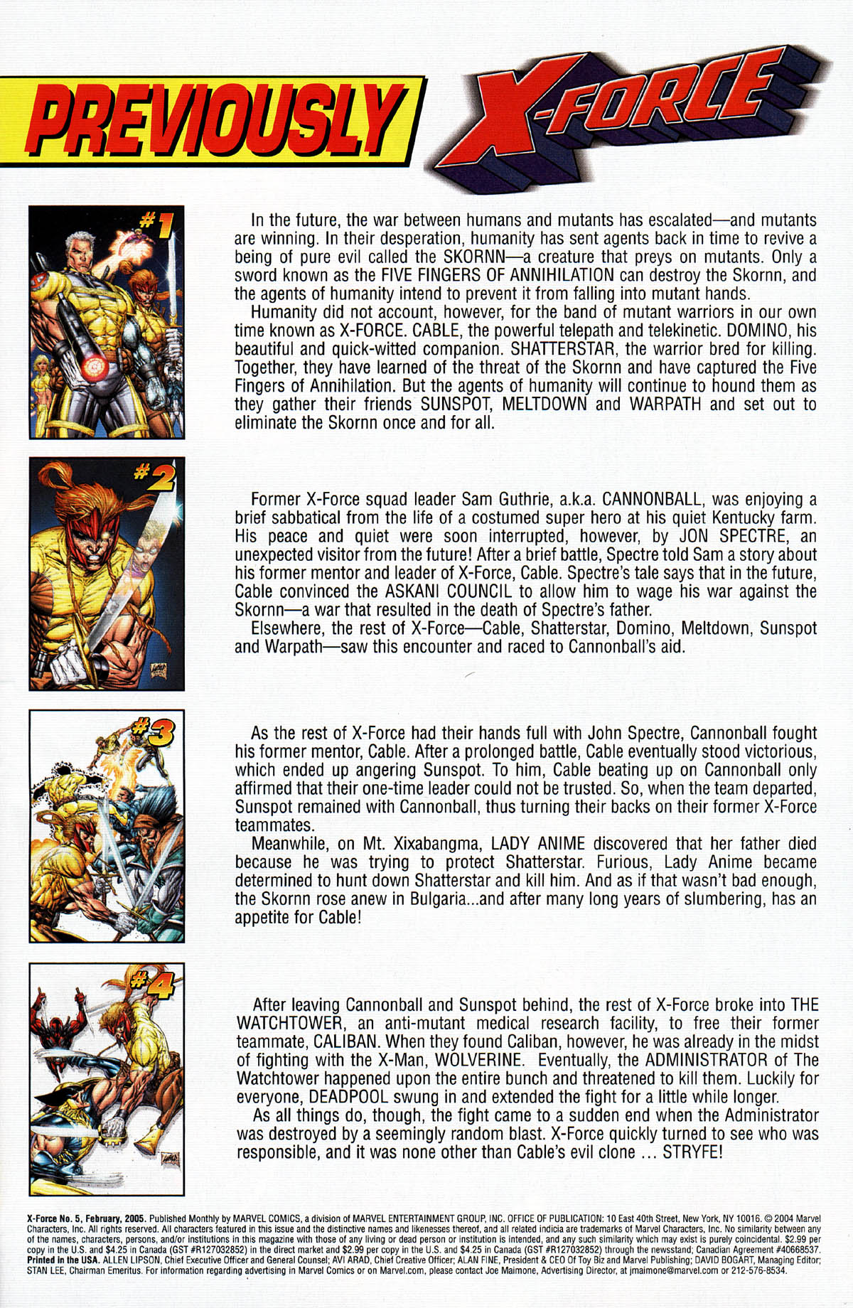 Read online X-Force (2004) comic -  Issue #5 - 3