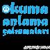 1. Sınıf Okuma Anlama Metinleri (80 adet)