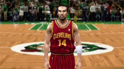 NBA 2K13 Shaun Livingston Realistic Face Texture
