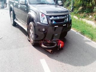 Warga Asing Mati Dilangar Kereta
