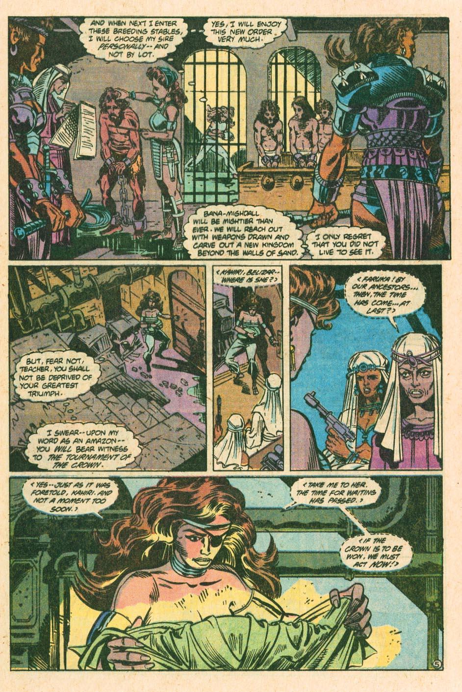 Read online Wonder Woman (1987) comic -  Issue #34 - 6