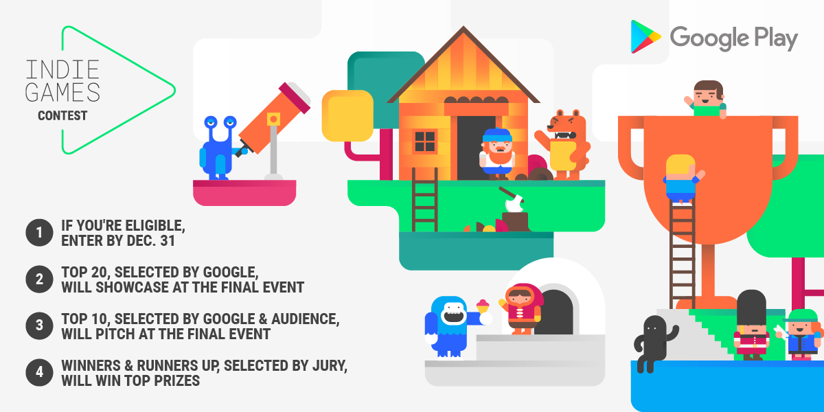 Android Developers Blog: Google Play's Indie Games Contest