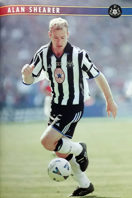PIN UP ALAN SHEARER (NEWCASTLE UNITED)
