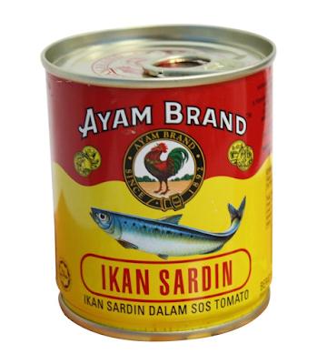 Resepi Sardin Homemade