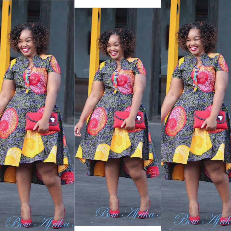 Latest And Beautiful Kitenge Dresses