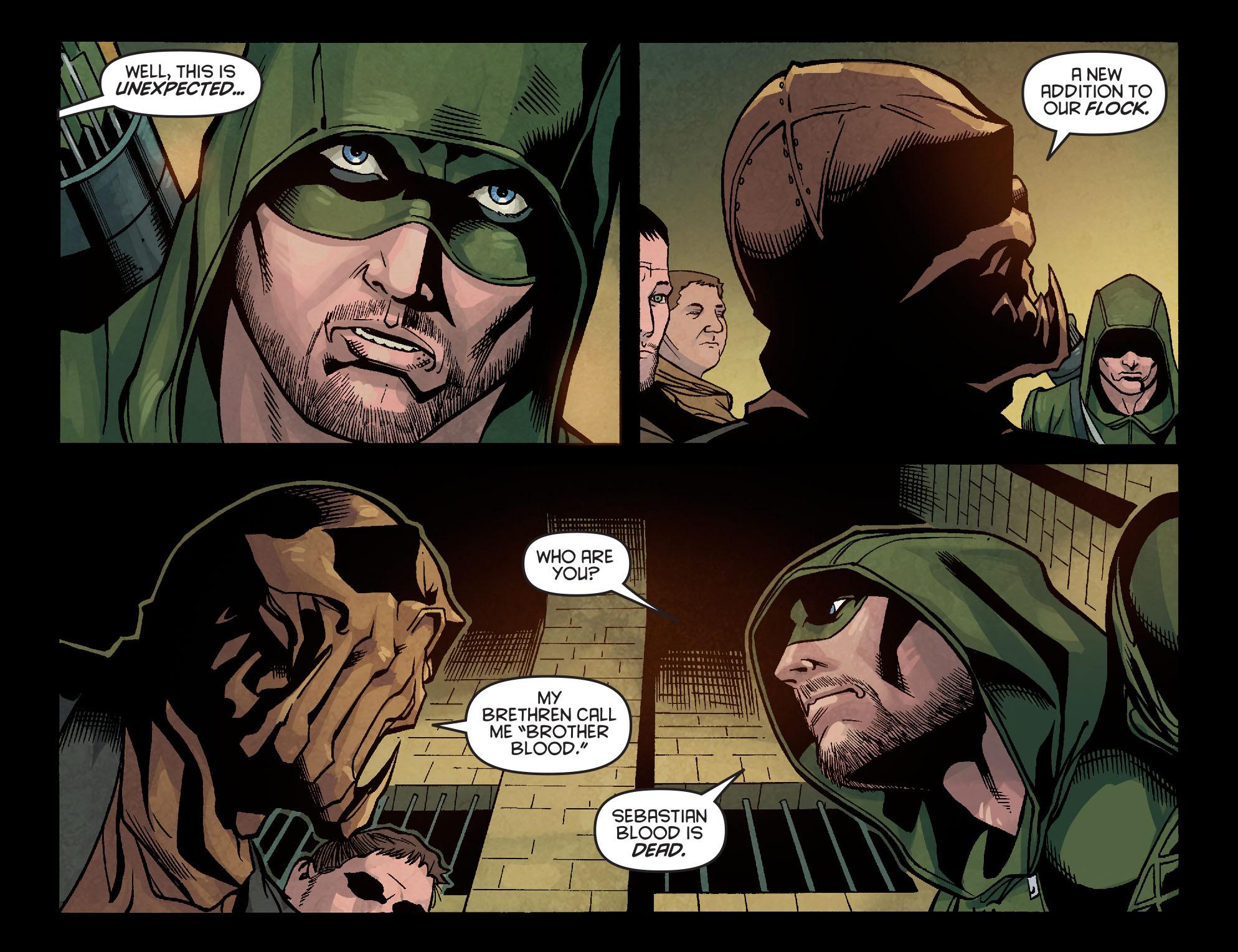 Read online Arrow: Season 2.5 [I] comic -  Issue #5 - 16
