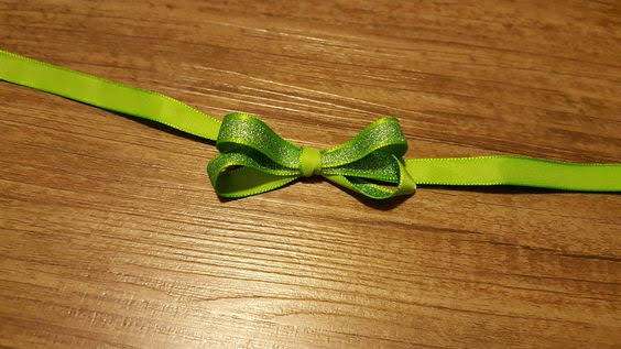Double Bow, Bow, Christmas Ornaments, Bow making, ribbon