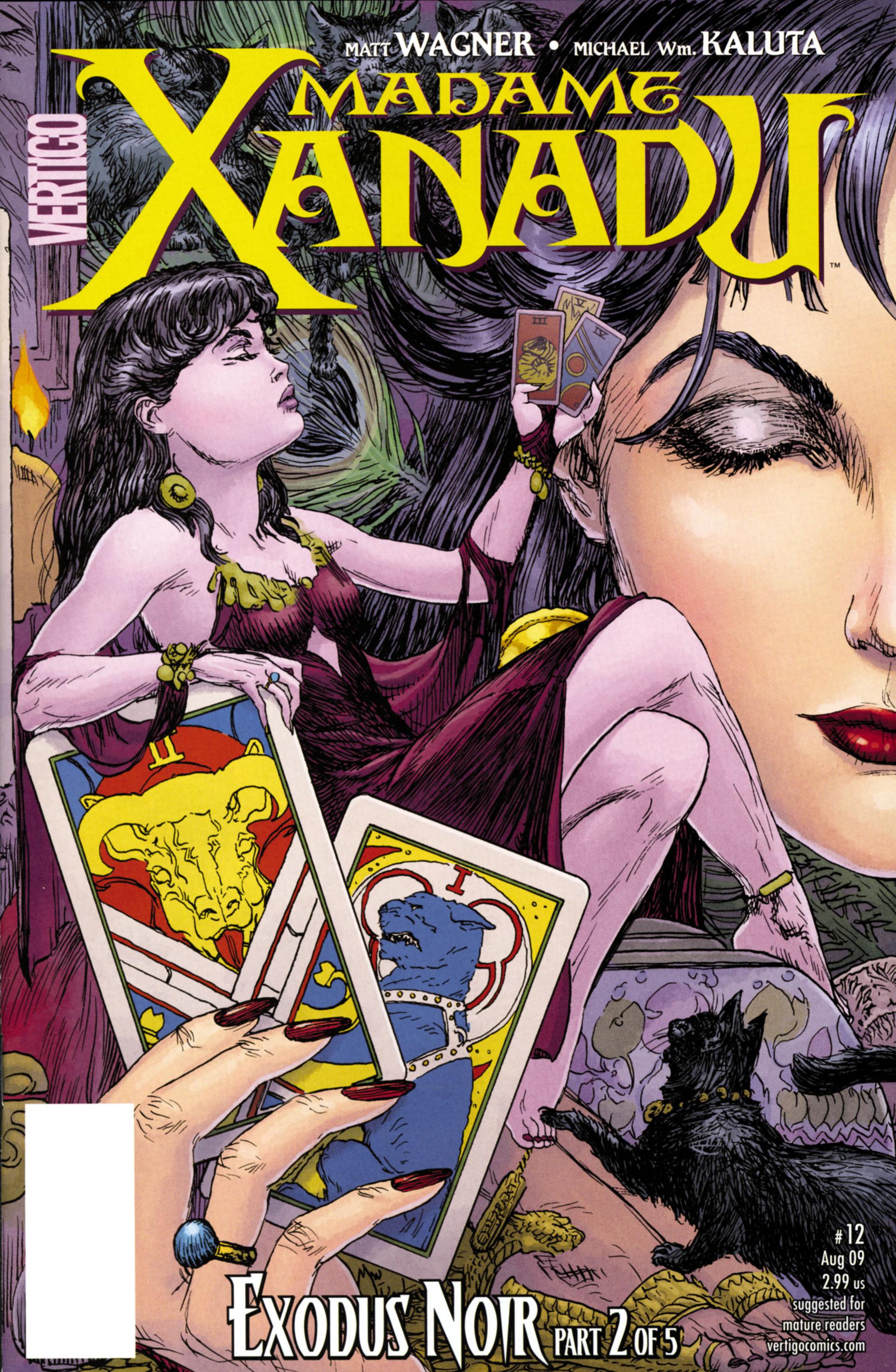 Madame Xanadu issue 12 - Page 1